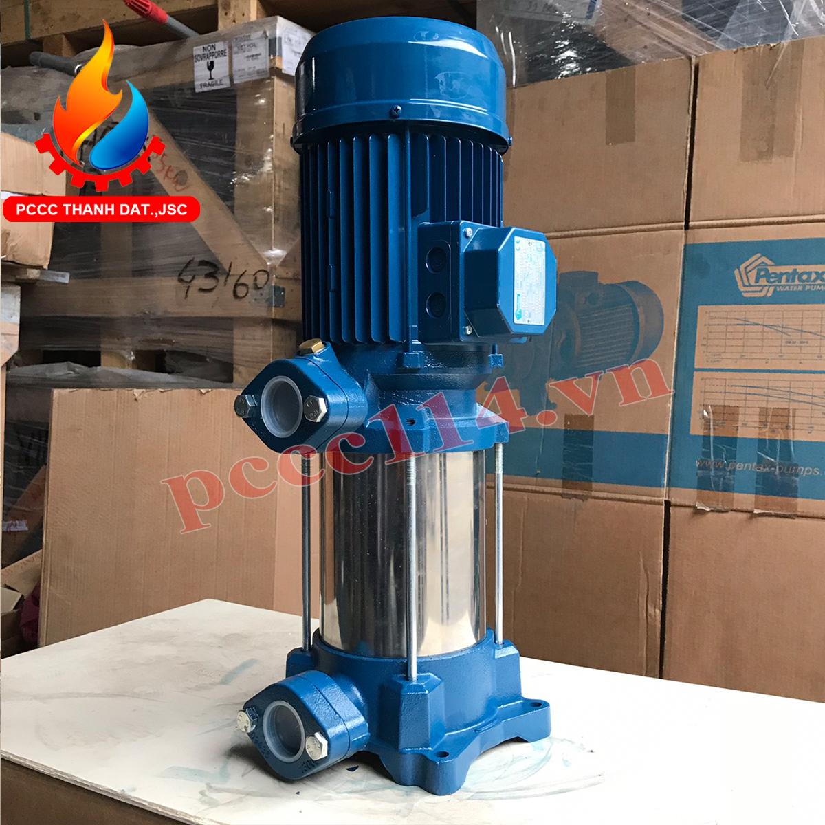 Bơm bù áp pccc Pentax U7V-550/10T 5.5HP