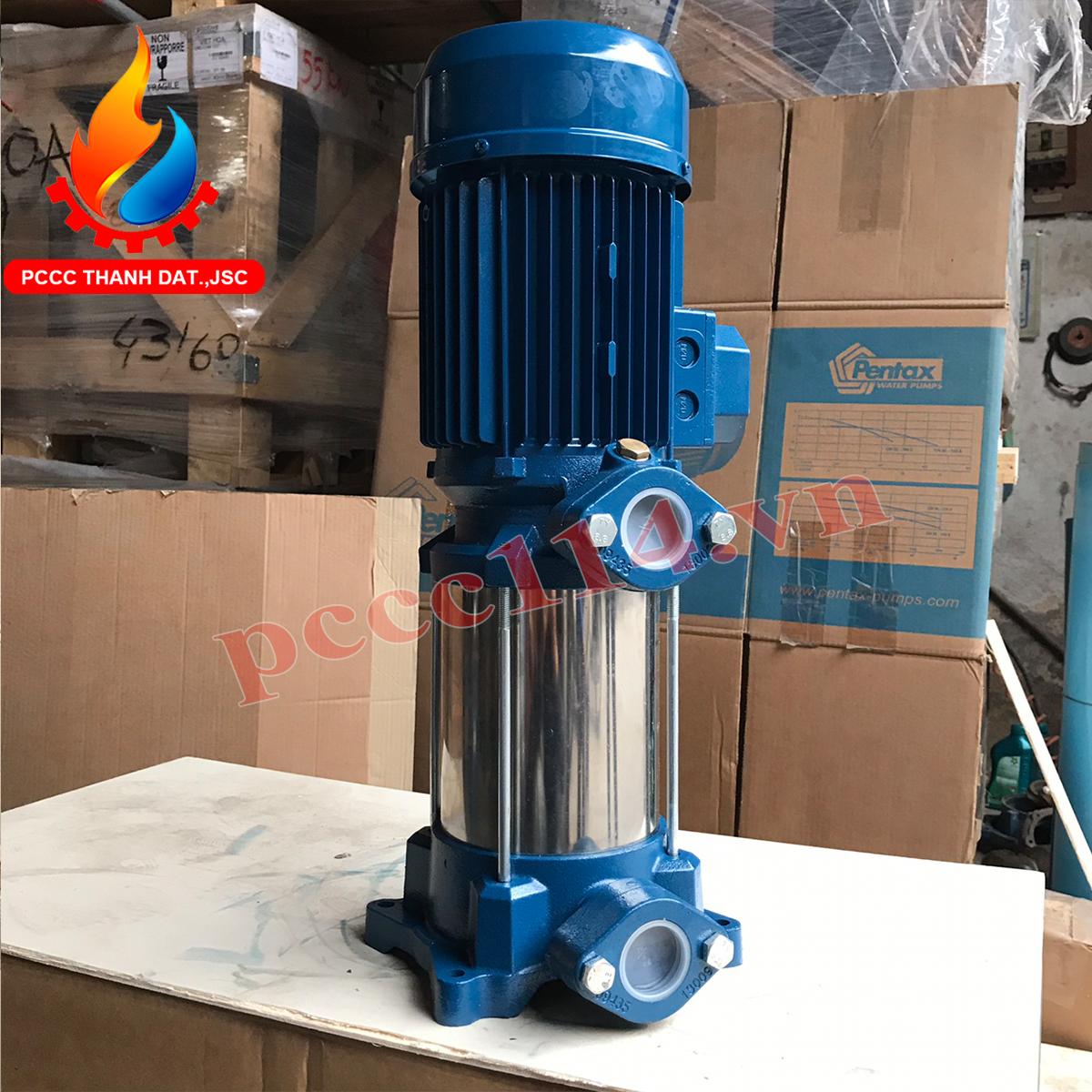 Bơm bù áp pccc Pentax U18V-750/8T 7.5HP