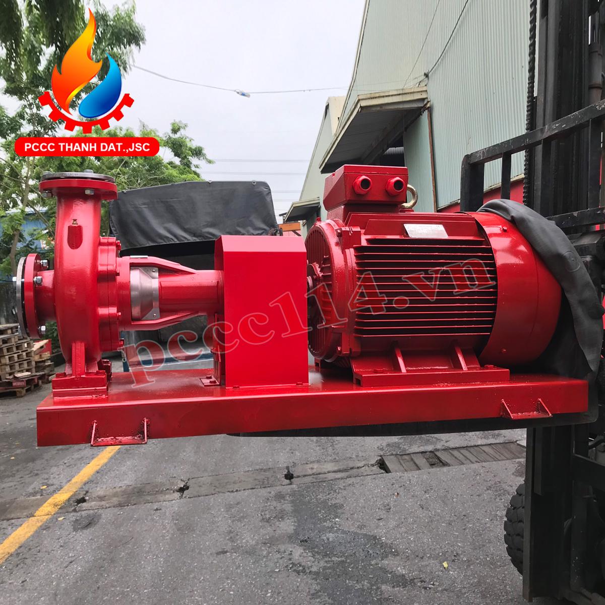 Mua máy bơm chữa cháy tại TPHCM