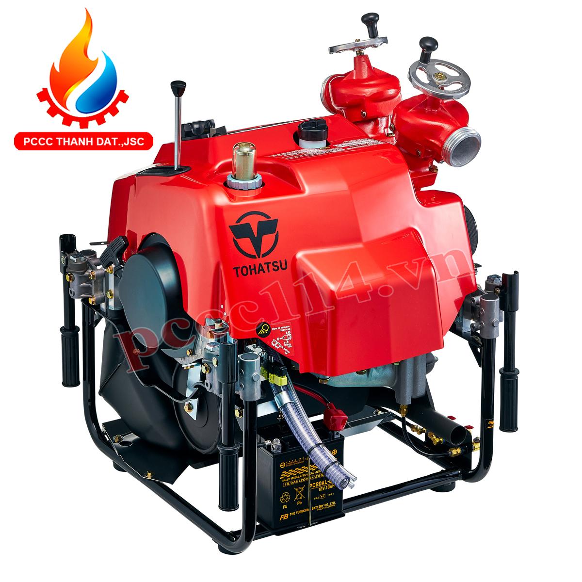 Cách bảo quản máy bơm cứu hỏa Tohatsu trong mùa lạnh