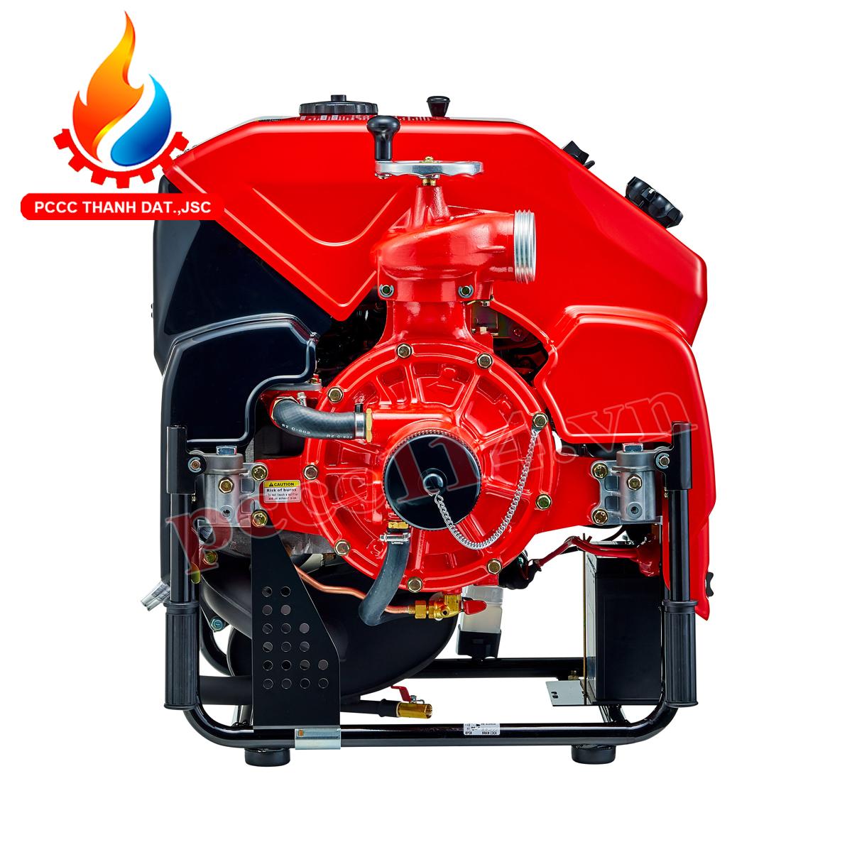 Báo giá máy bơm chữa cháy chạy xăng